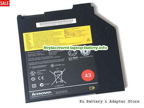 45N1040, LENOVO 45N1040 Battery, 2900mAh, 32Wh , 2.9Ah 10.8V Black Li-ion