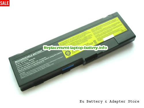 E600, LENOVO E600 Battery, 3800mAh 11.1V Black Li-ion
