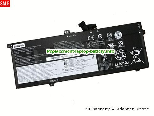 Netherlands L18C6PD1 Battery L18M6PD1 For Lenovo ThinkPad X390 Laptop Li-Polymer 48Wh