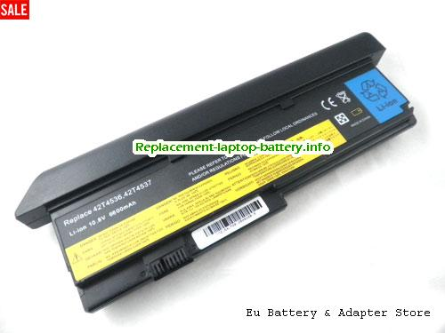 ASM 42T4539, LENOVO ASM 42T4539 Battery, 7800mAh 10.8V Black Li-ion