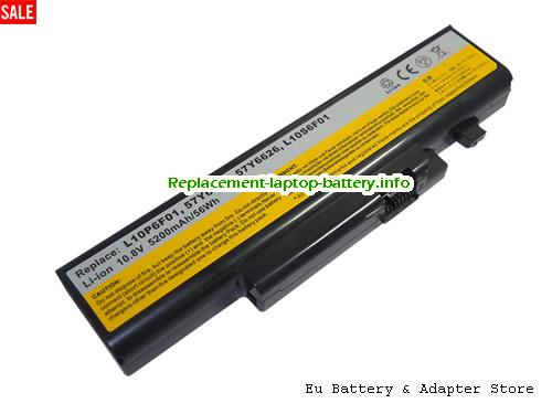FRU 121001074, LENOVO FRU 121001074 Battery, 5200mAh, 56Wh  10.8V Black Li-ion