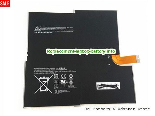 Netherlands Original Laptop Battery for  MICROSOFT MS011301-PLP22T02, MS011301PLP22T02, 1577-9700, 15779700,  Black, 5547mAh, 42Wh  7.6V