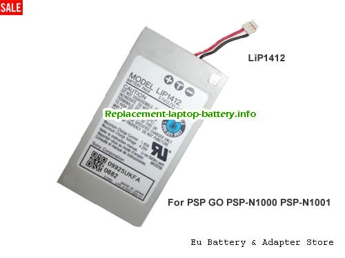 LIP1412B, SONY LIP1412B Battery, 930mAh 3.7V Sliver Li-ion