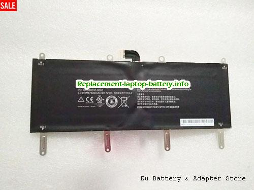 Netherlands VERIFONE BPK179-001 Battery 023-B0035-0001 Li-ion 28.72Wh 3.74V