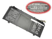 ACER AP1503K Battery For Aspire S13  S5 series Laptop