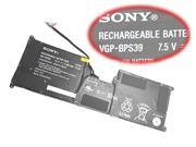 Sony VGP-BPS39 Battery 29wh 7.5V 3800mah in Netherlands