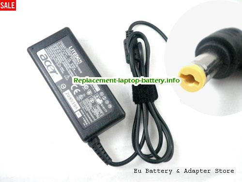 ACER 4604WLMi Laptop AC Adapter 19V 3.42A 65W