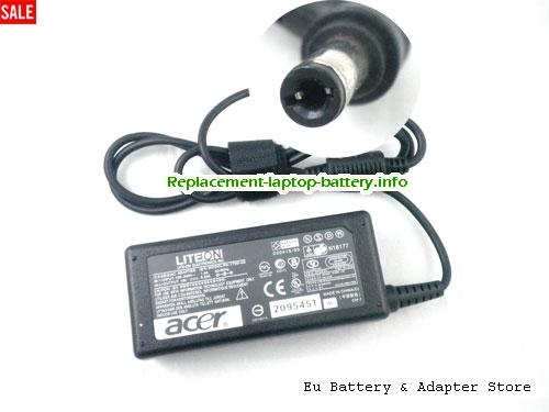 ACER Aspire 2010WLMi Laptop AC Adapter 19V 3.42A 65W