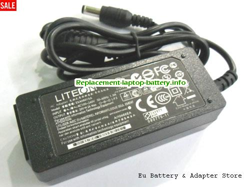 ACER D150 Laptop AC Adapter 20V 2A 40W