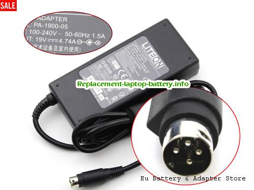 netherlands ACBEL 19V 4.74A 90W Laptop ac adapter