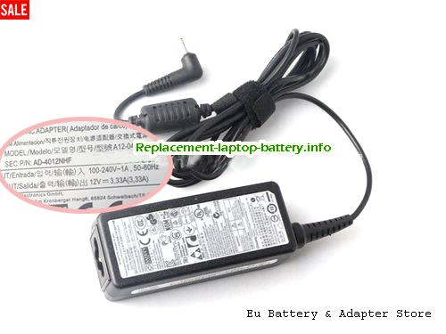 SAMSUNG ADP-40MH AB Laptop AC Adapter 12V 3.33A 40W