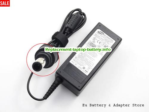 SAMSUNG ADP-60ZH Laptop AC Adapter 19V 3.16A 60W