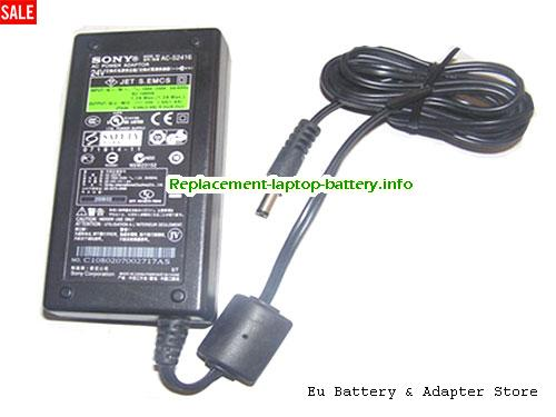 SONY AC-S2416 Laptop AC Adapter 24V 1.6A 38W