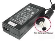 FSP 19V 4.74A 90W Replacement Laptop Adapter, Laptop AC Power Supply Plug Size 5.5 x 2.5mm