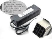 MICROSOFT 12V 16.5A 203W Replacement Laptop Adapter, Laptop AC Power Supply Plug Size 6holesmm