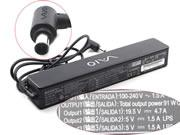 SONY 19.5V 4.7A 92W Replacement Laptop Adapter, Laptop AC Power Supply Plug Size 6.5x4.4mm